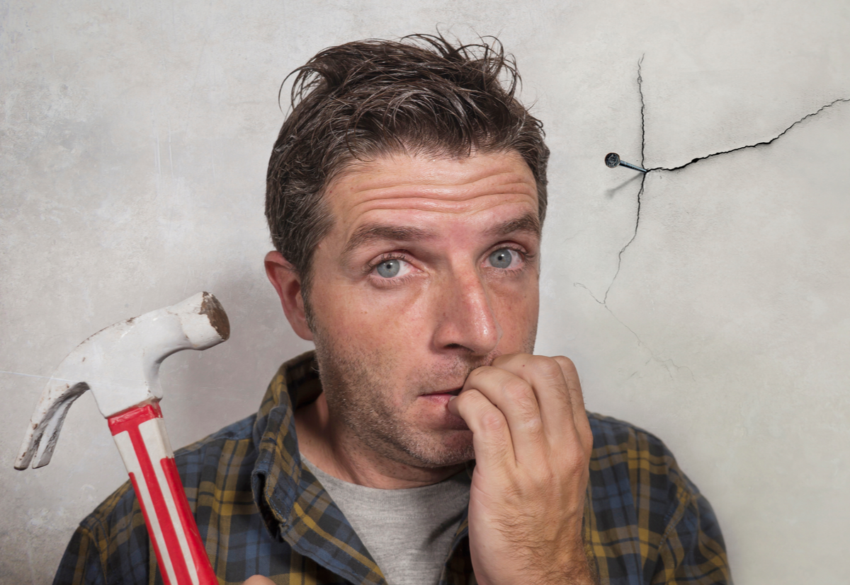 Pay the experts and avoid the DIY disaster